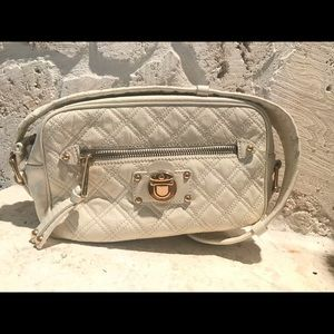 Quilted Beige patent Marc Jacobs bag